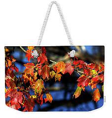 Colors Of Autumn Weekender Tote Bag by Steve Gravano