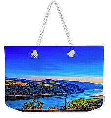 Columbia River Gorge Weekender Tote Bag by Nancy Marie Ricketts