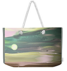 Coming Up On Dawn Weekender Tote Bag