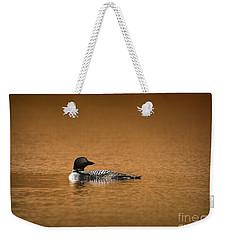 Common Loon Weekender Tote Bag