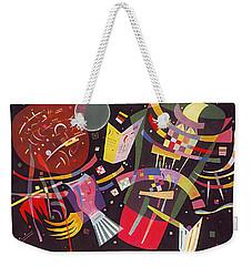 Composition X Weekender Tote Bag