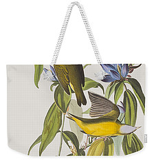 Connecticut Warbler Weekender Tote Bag