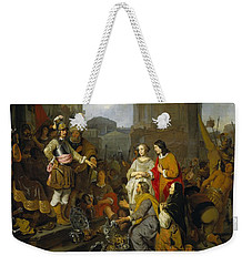 Continence Of Scipio Weekender Tote Bag