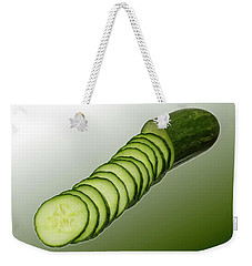 Cool As A Cucumber Slices Weekender Tote Bag by David French