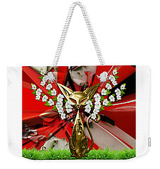 Cool Cat Art Collection Weekender Tote Bag