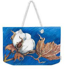 Cotton Picking Blues Weekender Tote Bag