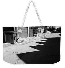 Counting Shadows Weekender Tote Bag