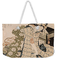 Courtesan Asleep Weekender Tote Bag