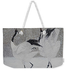 Courtship Dance Weekender Tote Bag