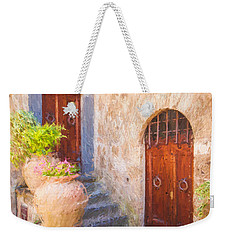 Courtyard Of Tuscany Weekender Tote Bag
