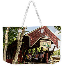 Covered Bridge Gift Shoppe Weekender Tote Bag by Sherman Perry