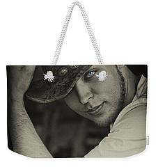Cowboy Jim Weekender Tote Bag