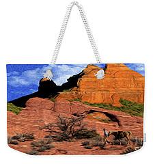 Cowboy Sedona Ver 1 Weekender Tote Bag