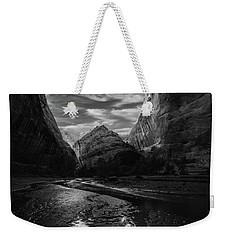Weekender Tote Bag featuring the photograph Coyote Gulch by Dustin LeFevre
