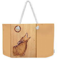 Coyote Weekender Tote Bag by Ron Haist