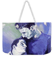 Cradle My Heavy Heart Weekender Tote Bag