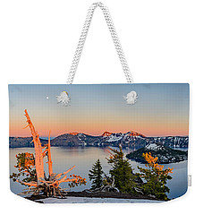 Crater Lake Panorama Weekender Tote Bag