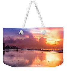 Crescent Beach September Morning Weekender Tote Bag