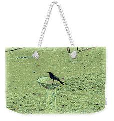 Crow And Bath Weekender Tote Bag