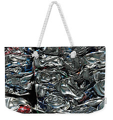 Crushed Cans Weekender Tote Bag