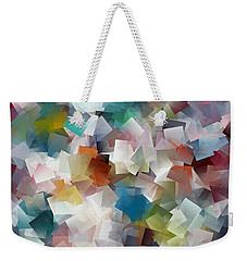 Crystal Cube Weekender Tote Bag