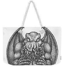 Cthulhu Idol Weekender Tote Bag