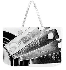 1 Cup Measure And Siblings. Weekender Tote Bag