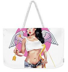 Cupid Weekender Tote Bag by Brian Gibbs