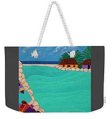 Curacao Lagoon Weekender Tote Bag