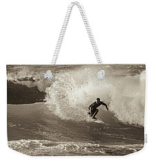 Weekender Tote Bag featuring the photograph Curl by Alex Lapidus