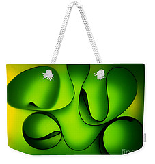 Weekender Tote Bag featuring the photograph Curved by Trena Mara