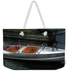 Cute Boat - 1948 Feather Craft Weekender Tote Bag