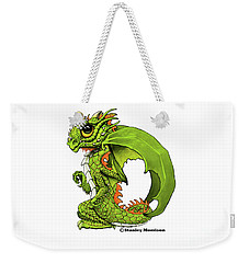 Weekender Tote Bag featuring the digital art D Is For Dragon by Stanley Morrison
