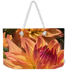 Dahlia Delight II Weekender Tote Bag