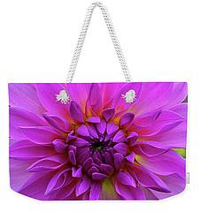 Dahlia Weekender Tote Bag