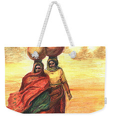 Daily Desert Dance  Weekender Tote Bag