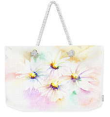 Daisy Weekender Tote Bag by Elizabeth Lock
