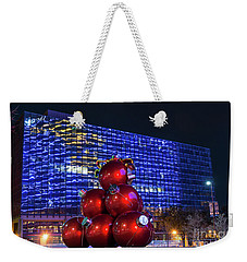 Dallas Christmas Ornaments Weekender Tote Bag