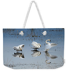 Dance Of The Trumpeter #1a Weekender Tote Bag