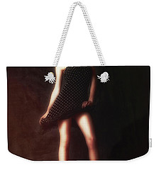 Weekender Tote Bag featuring the photograph Dancer  ... by Chuck Caramella