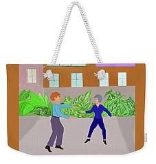 Dancers Weekender Tote Bag by Fred Jinkins