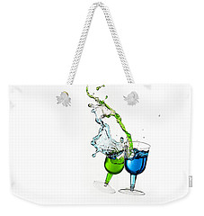 Dancing Drinks Weekender Tote Bag by Peter Lakomy