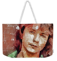 David Cassidy, Singer And Actor Weekender Tote Bag by Mary Bassett