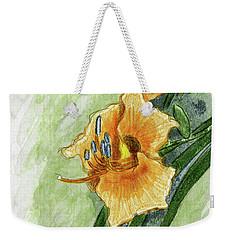 Daylily #2 Weekender Tote Bag