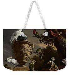 De Menagerie Weekender Tote Bag by Melchior d'Hondecoeter