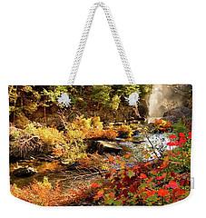 Dead River Falls  Marquette Michigan Weekender Tote Bag