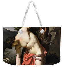 Death Of Saint Sebasian Weekender Tote Bag