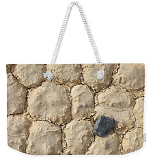 Weekender Tote Bag featuring the photograph Death Valley Mud by Breck Bartholomew