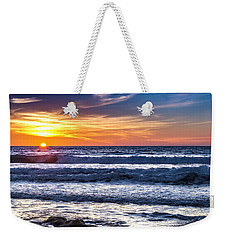 Del Mar Sunset Weekender Tote Bag by Randy Bayne