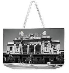 Denver - Union Station Film Weekender Tote Bag by Frank Romeo